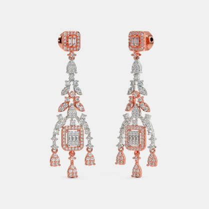 The Cama Statement Drop Earrings
