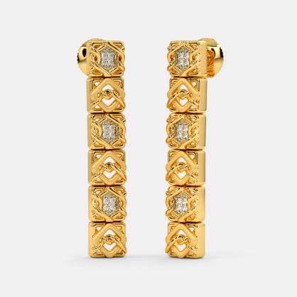 The Canisa Stiletto Drop Earrings