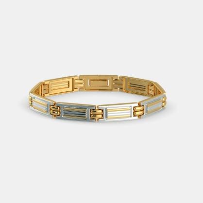 The Geometric Symphony Bracelet