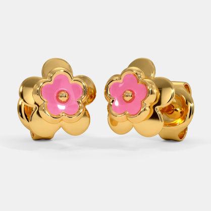The Pink Kids Stud Earrings