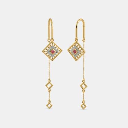 The Navya Sui Dhaga Earrings