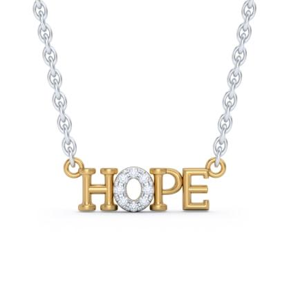 The Hope Script Necklace