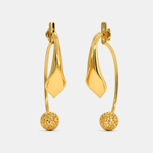 The Aurek Front Back Earrings