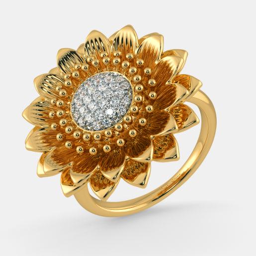 The Heavenly Sunflower Ring