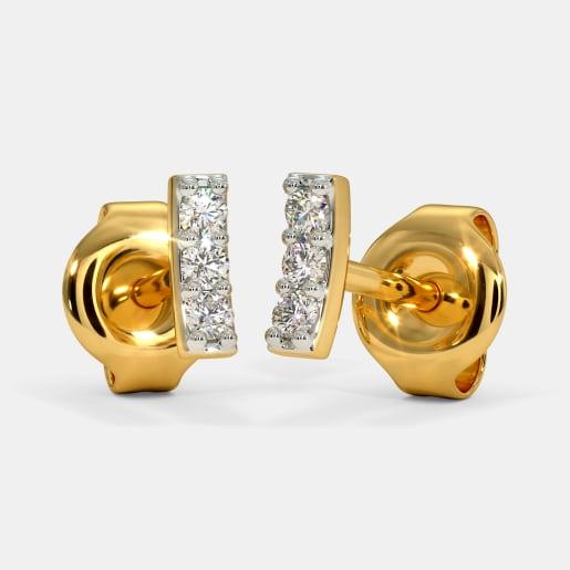 The Lua Multi Pierced Stud Earrings