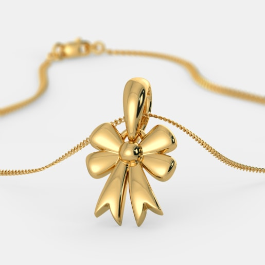 The Lovely Bow Pendant For Kids