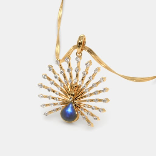 The Royal Feather Pendant