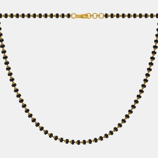 The Mangalsutra Single Line Full Chain