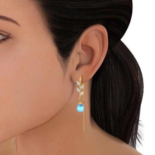 The Leaflet Bloom Earrings
