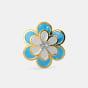 The Blue Petal Earrings for Kids