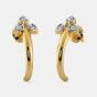 The Zymal J Hoop Earrings