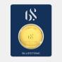 50 gram 24 KT Gold CoinCertificate