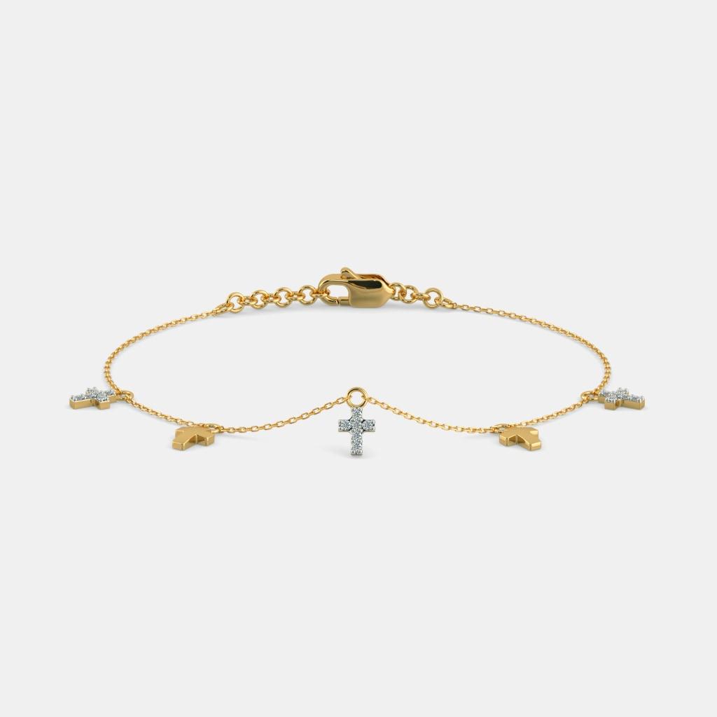 The Chloe Cross Bracelet