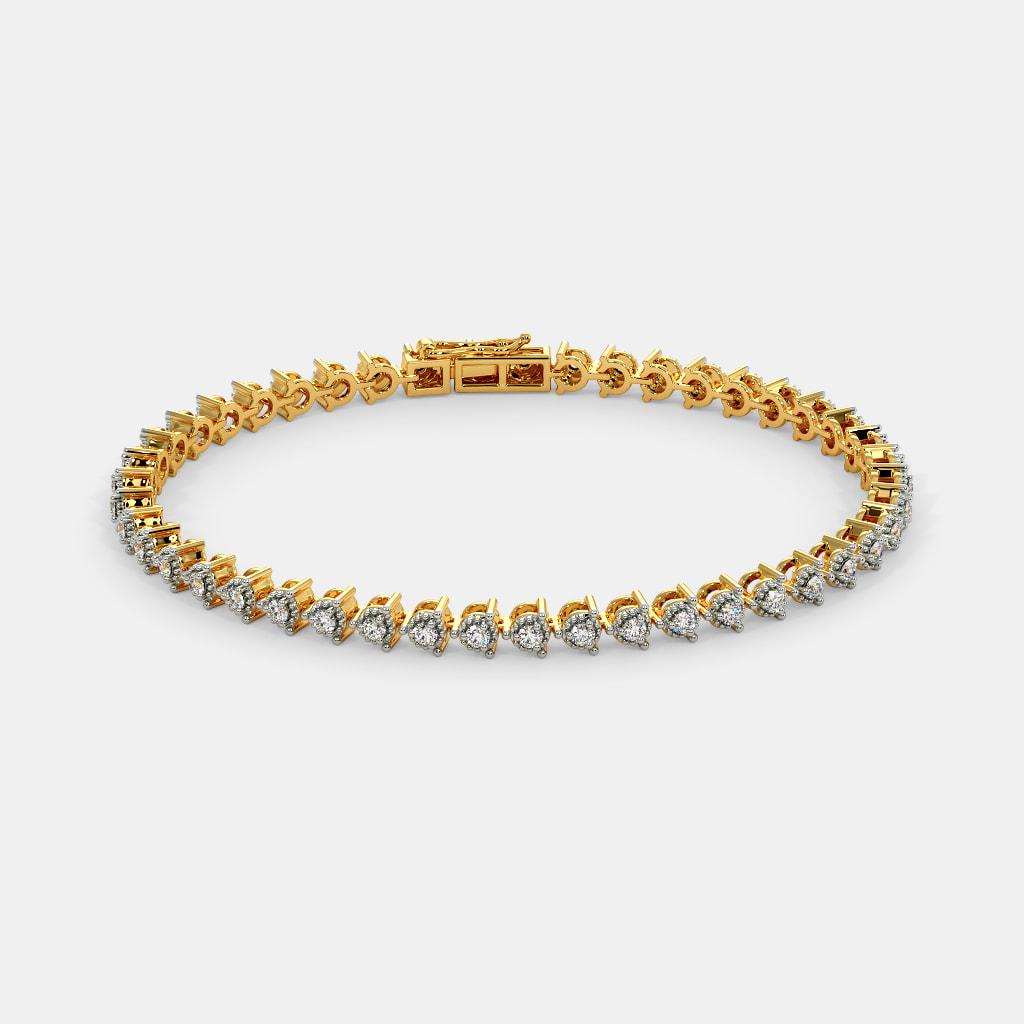 The Raissa Tennis Bracelet