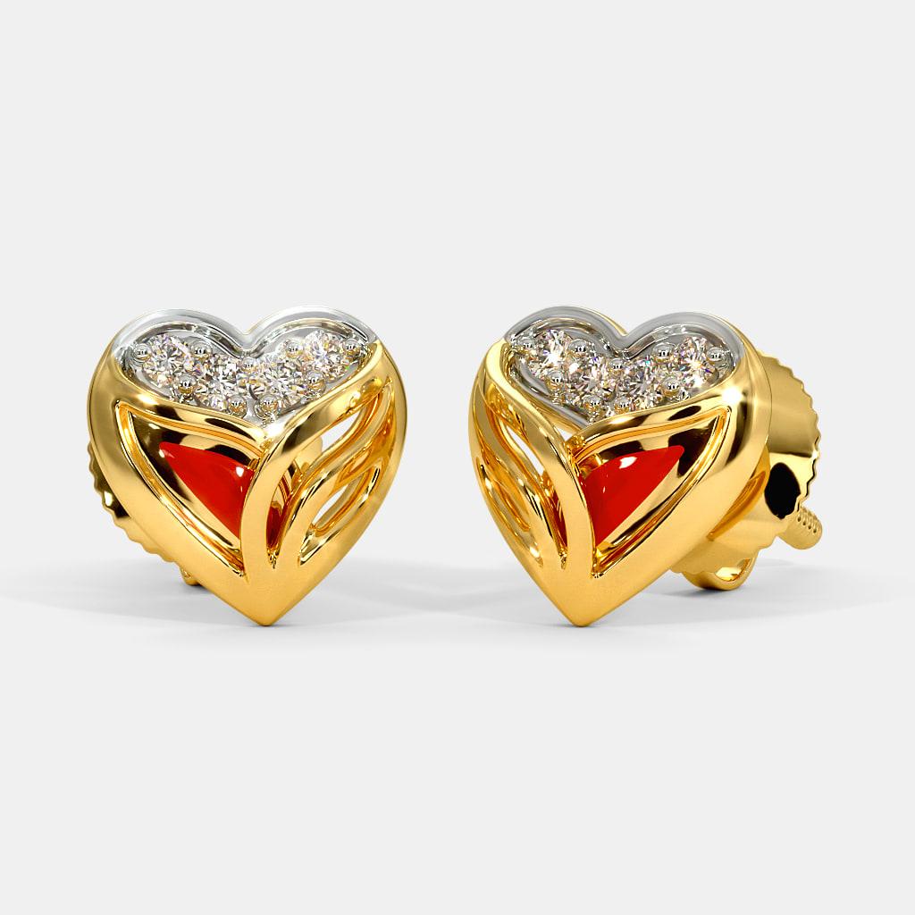 The Ettie Fire Stud Earrings