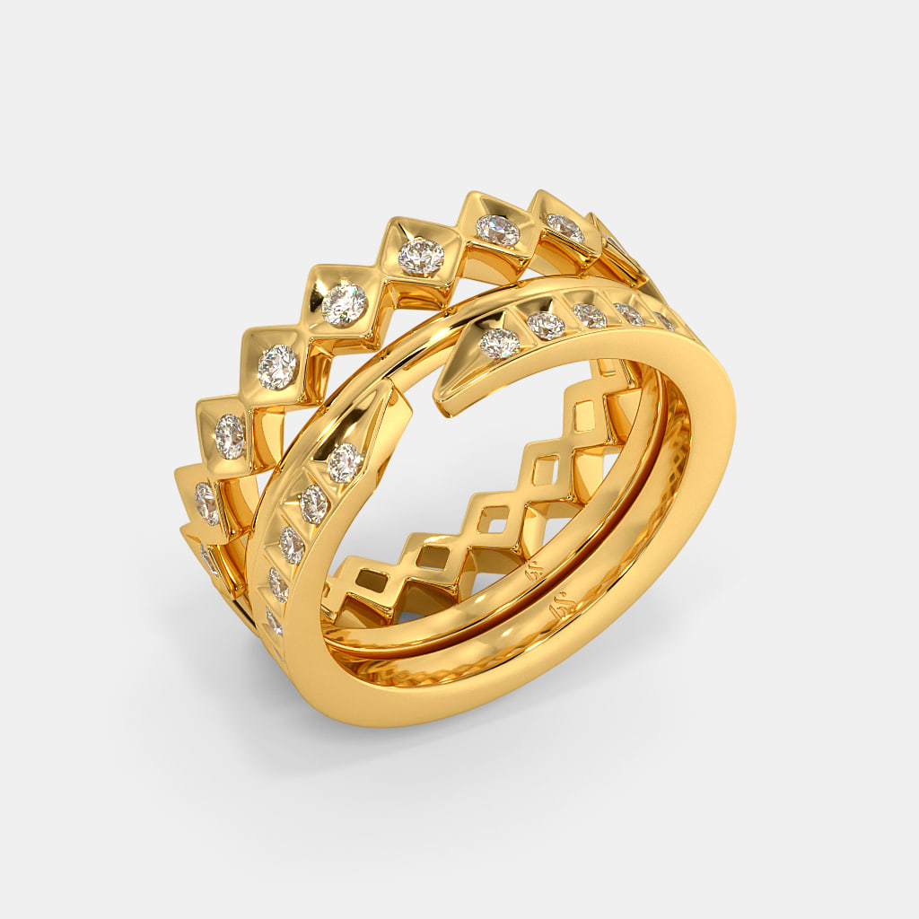 The Aram Stackable Ring