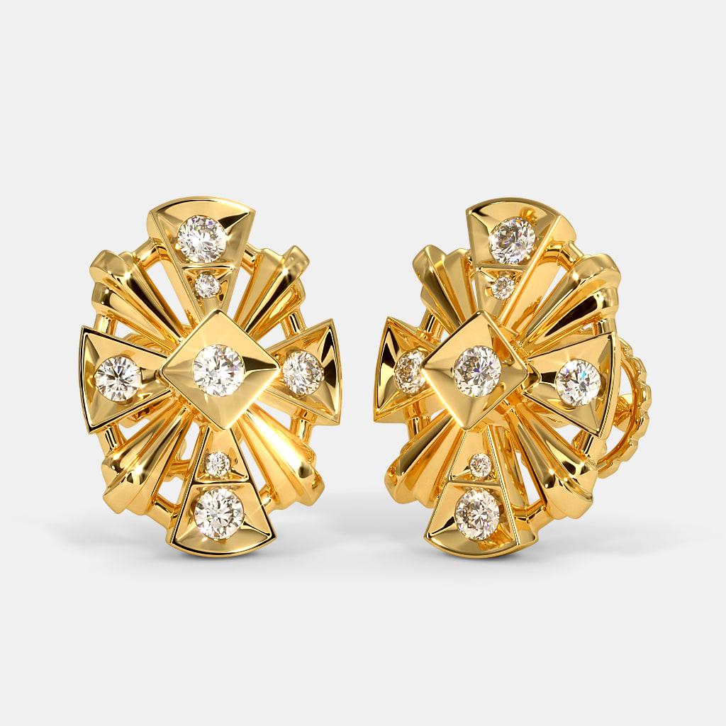 The Ampal Stud Earrings