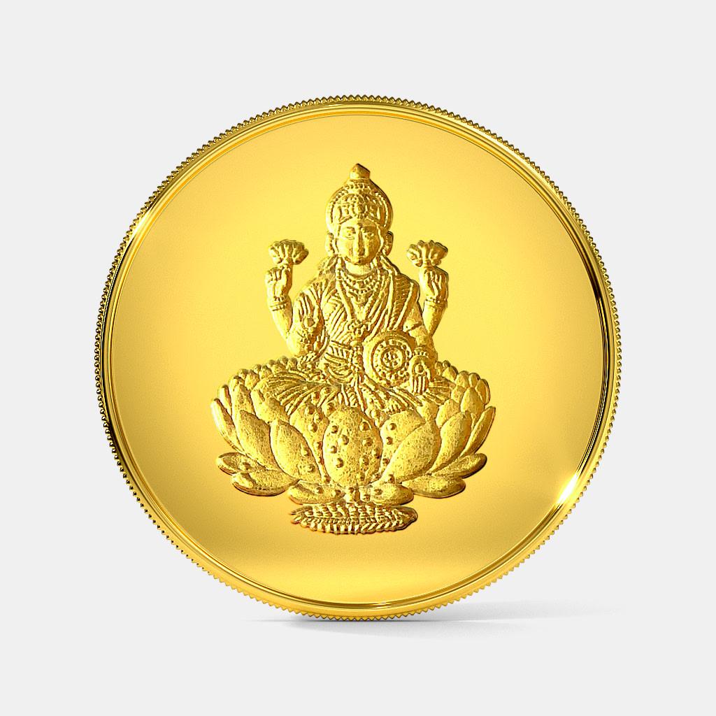 50 gram 24 KT Lakshmi Gold Coin