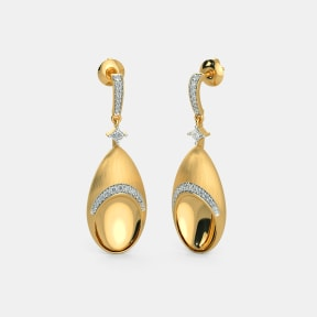 The Radiance Drop Earrings
