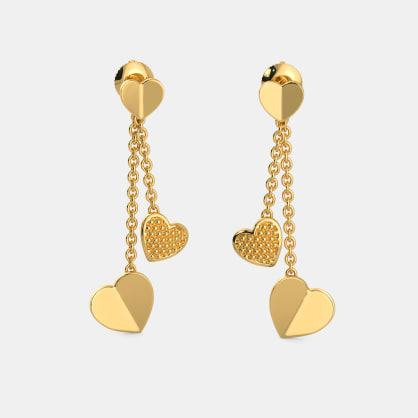 The Throbbing Love Drop Earrings
