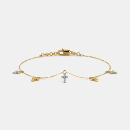 The Chloe Cross Bracelet