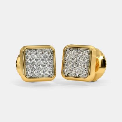The Yareli Pave Stud Earrings