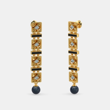 The Meticulous Long Drop Earrings
