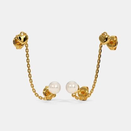 The Keanu Multi Pierced Stud Earrings