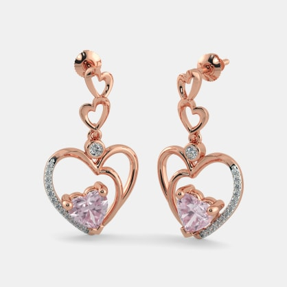 The Priyanka Heart Earrings