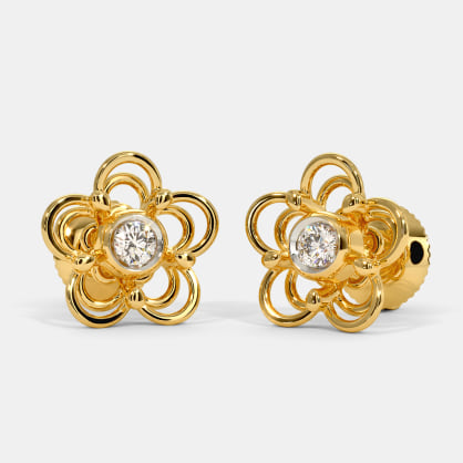 The Rinashi Stud Earrings