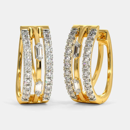 The Alfreda Hoop Earrings