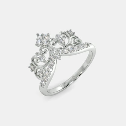 The Gianina Crown Ring