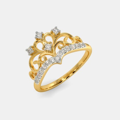 The Abriana Crown Ring