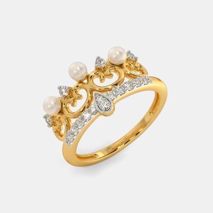 The Alcee Crown Ring