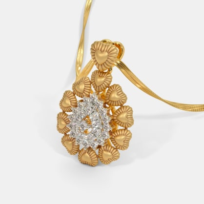 The Padmalaya Petal Pendant