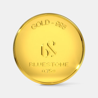 750 milligram 24 KT Gold Coin