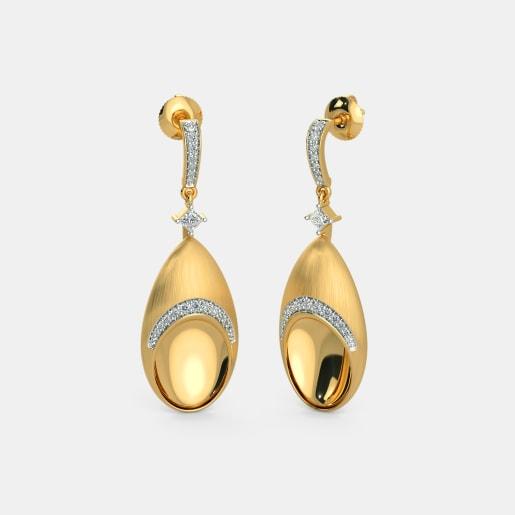 The Radiance Drop Earrings