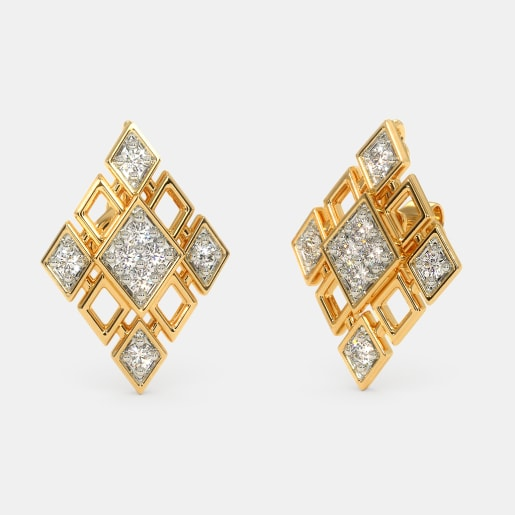 The Pamella Multiwearable Stud Earrings