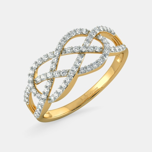 4bb5bc59b Rings - Buy 2000+ Ring Designs Online in India 2019 | BlueStone.com