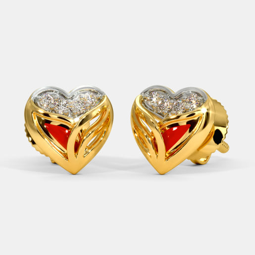 The Ettie Fire Stud Earrings