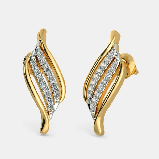 de508df3e Gold Earrings - Buy 2400+ Gold Earring Designs Online in India 2019 ...