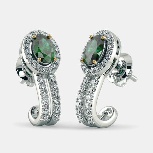 The Stately Charm Hoop Earrings