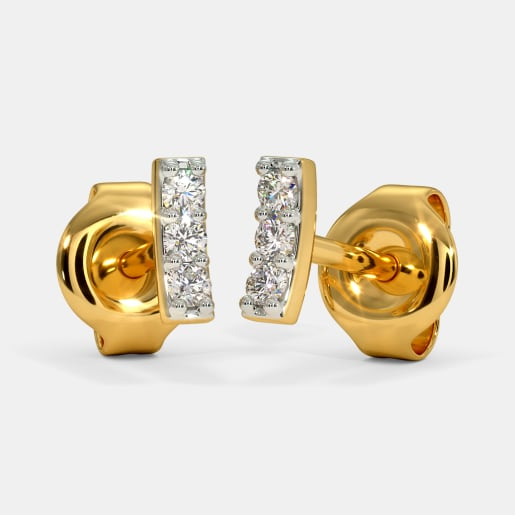The Lua Multi Pierced Stud Earrings