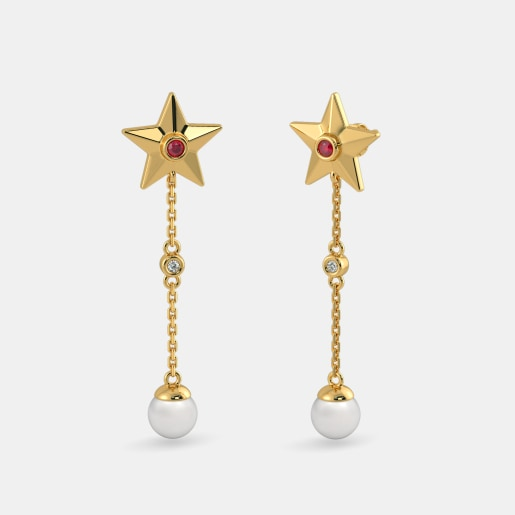 The Jenara Drop Earrings