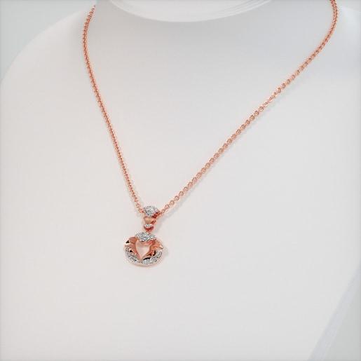 Rose Gold Necklaces - Buy Rose Gold Necklace Designs Online in India ... af3d91c33