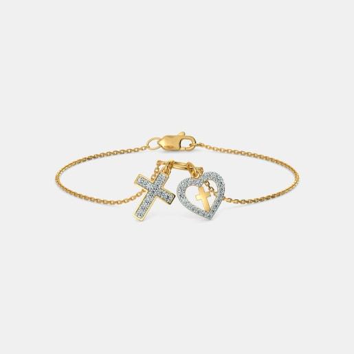 The Claudia Cross Bracelet