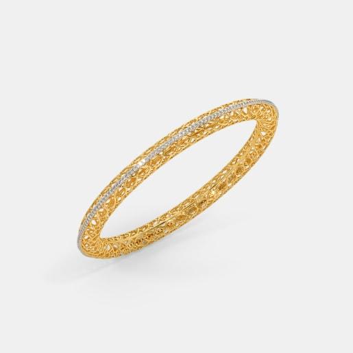 9122038f26f4ae Diamond Bangles - Buy 200+ Diamond Bangle Designs Online in India ...