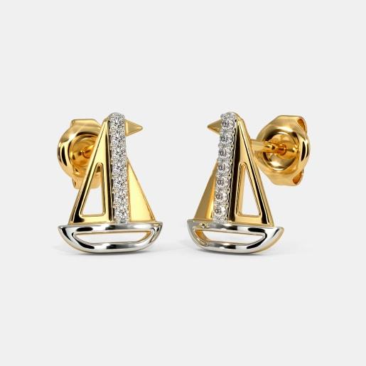 The Sail Kids Stud Earrings