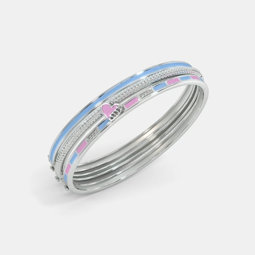 The Vivid Charm Oval Bangle