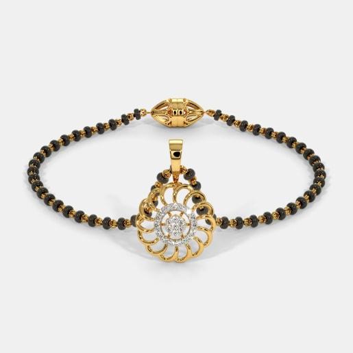 The Nura Mangalsutra Bracelet